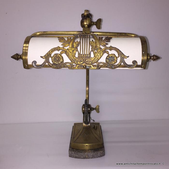 Antichit il tempo ritrovato antiquariato e restauro nuovi arrivi - Ebay lampade da tavolo antiche ...